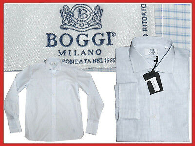 BOGGI MILANO Shirt man 40 / 15 3/4 / L  EVEN - 85 % ¡¡¡ BO01 TOL1