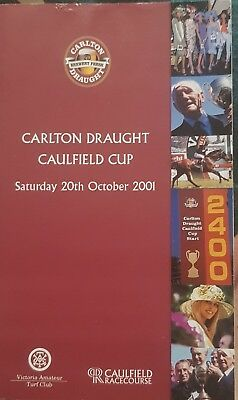 2001 Caulfield Cup Race Book