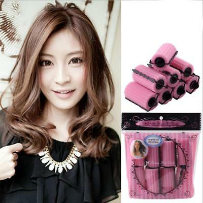 Hair Soft Foam Rollers Sponge Salon Dressing Curlers Twist Waves Perm Girl FI