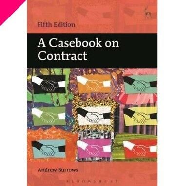 A Casebook On Contract Andrew Burrows 5th Edition