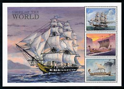 [78747] Antigua & Barbuda 1998 Ships Viking Greek Sheet MNH