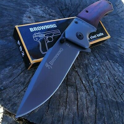 Browning knife Folding Opening Pocket Knife Hunting, Camping, Survival, Fishing