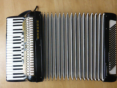 HOHNER Verdi III 3 Akkordeon 120 Bässe Accordeone accordion mit Koffer