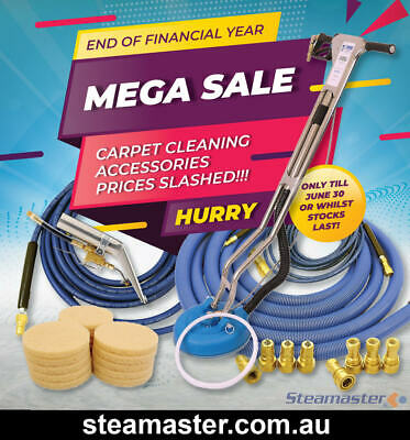 Steamvac Carpet Cleaner Pex 500 Heated Carpet Cleaning Extractor Machine SALE