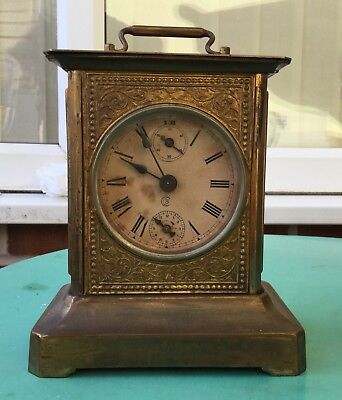 Antique Carriage Alarm Clock