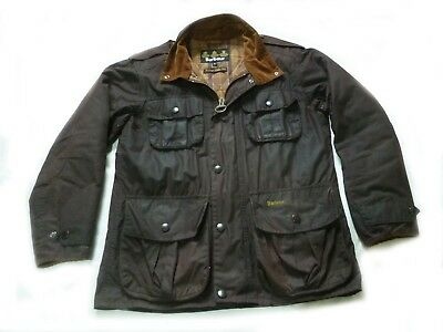 """Superb Barbour """"  Trooper """" Wax Military Style Jacket - Small - Cost £225"""