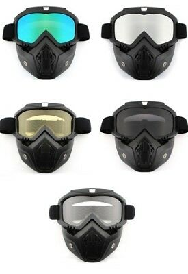 Outdoor Sports Anti Pollution Cycling Masks Bicycle Ski Full Face Unisex UV Mask
