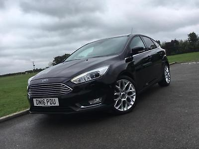2016 16 Ford Focus 1.5 Tdci Titanium X 5Dr *sat Nav, Leather, Xenons*
