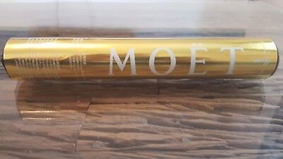 Moët Chandon Imperial Gold Konfetti Kanone Party Popper Krone Champagner NEU OVP