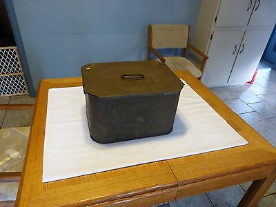 Rare Vintage Atlantic Col Pac Dairy Cooler With 6 Quart Bottle Rack Rochester NY