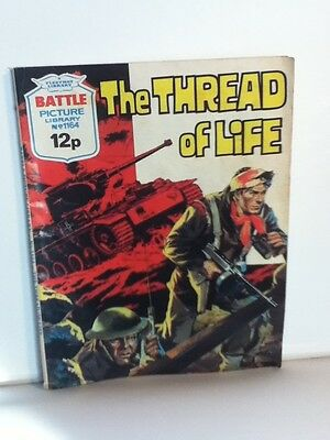 Battle Picture Library War Comic 'The Thread Of Life' (Issue 1164)