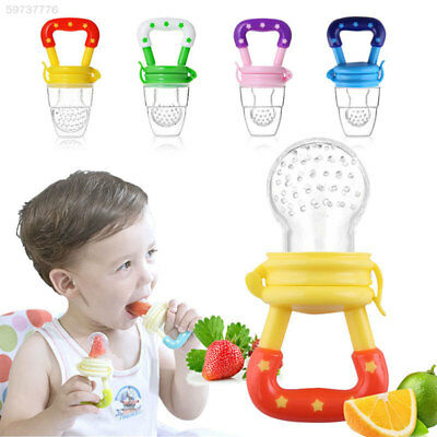 6343 Pacifiers Unisex Safety Nipple Pacifier Fruits Feeding Baby Nipple Food