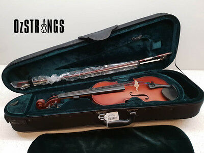 Enrico Student Extra Violin Outfit 4/4 Size Including our Ozstrings Setup.