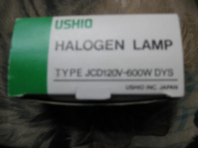 New Ushio JCD 120V-600W DYS/DYV/BHC  Japan Halogen Lamp for projection