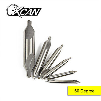 Hot HSS Combined Center Drills Countersinks 60 Degree Angle Bit Set Tool Metric