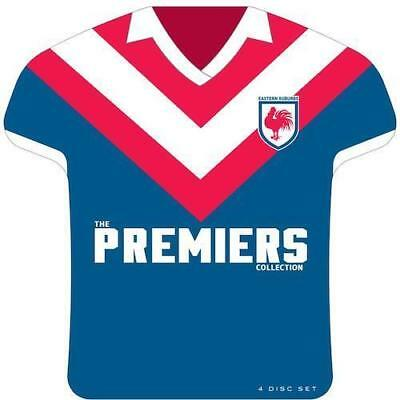 NRL SYDNEY ROOSTERS The Premiers Collection DVD EASTS RUGBY LEAGUE BRAND NEW R4