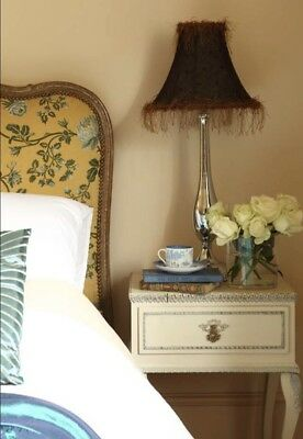 Pair Of Vintage French Style Shabby Chic Bedside Tables