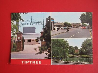 Nice Old Postcard- The Jam Factory .tip Tree (Wilkin & Son's Ltd )