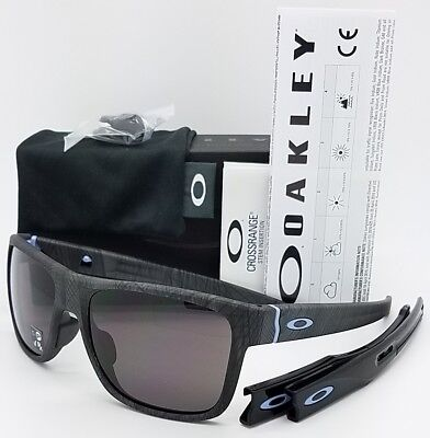 bacb6e982c NEW Oakley Crossrange sunglasses Aero Grid Warm Grey 9371-0957 Cross Asian  Fit