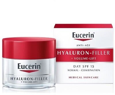Eucerin Hyaluron-Filler+Volume-Lift Day Cream for Normal and Mixed Skin SPF15