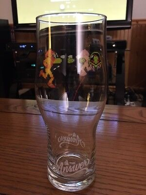 The Answer Brewpub Metroid glass *Free Shipping*