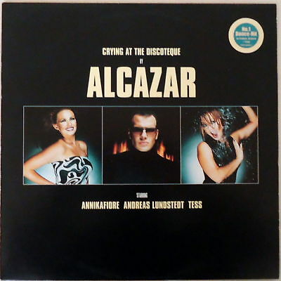 Alcazar – Crying At The Discoteque (Swedish Release)