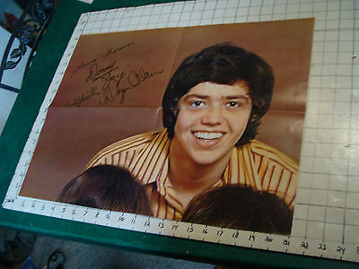 JAY OSMOND Poster: 4 sheet poster double sided JAY : David CASSIDY