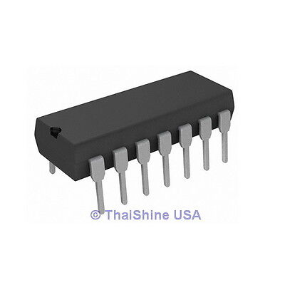 3 x LM3900 LM3900N Quad Operational Amplifier IC - USA Seller - Free Shipping