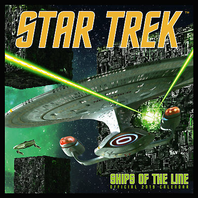 Star Trek: Ships of the Line - Kalender 2019 Wandkalender Größe 30x30 cm