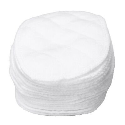 20 pcs Ultra Comfort Breast Pads Washable Extra absorbent cotton Baby, White CQ