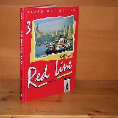 Learning English Red Line New 3 Textbook Bayern 3125460301