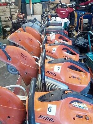 stihl ts400 petrol disc cutter, engine rebuilt inc water kit and vat