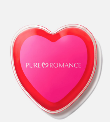 Pure Romance New Heart Massager Heart Shaped Heat Pack NEW! *FREE SHIPPING*