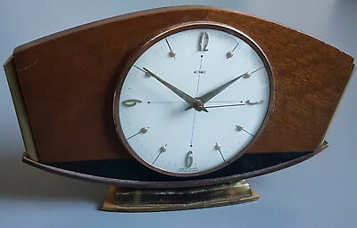 Vintage Metamec mantle clock- tested and working- made in England