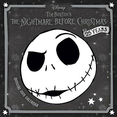 Nightmare Before Christmas - Kalender 2019 Größe 30x30 cm