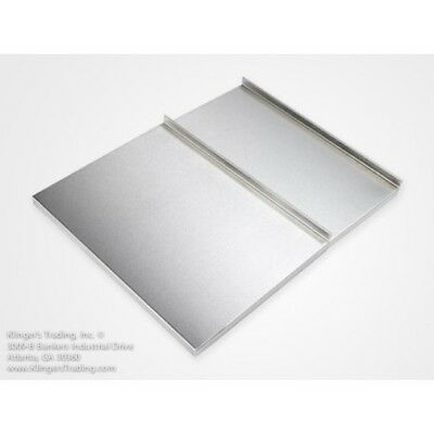"""18"""" x 48"""" Stainless Steel Ice Chest Cover"""