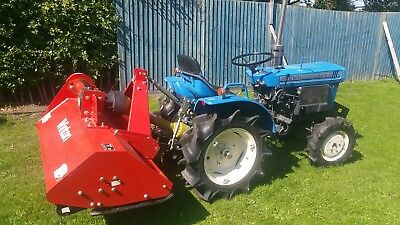 Iseki Tx1510 Tractor With New Heavy Duty Flail Mower