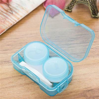 Portable Travel Contact Lens Case Box Container Holder Eye Care Kit G