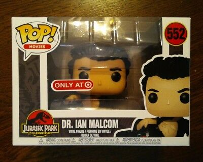 Funko POP! Movies Jurassic Park Dr. Ian Malcom (wounded) #552 Target Exclusive