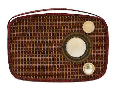 An old portable radio Vintage Early - mid 20th century