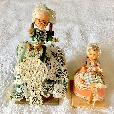 Dolls made from hard Plastic with Traditional Costume Clothing (Vintage & Rare).