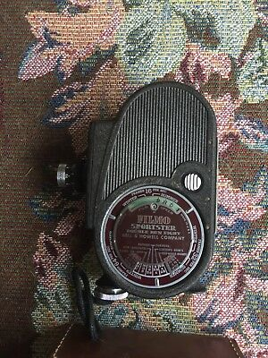 Bell & Howell Filmo Sportster double run D mount 8mm movie camera