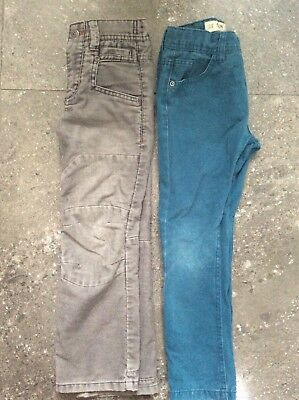Boys Next Grey Cords And Lovely Colour Primark Slim Jeans Age 6 Years