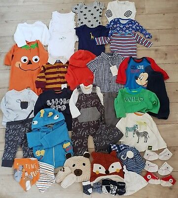 Mamas and papas Baby Boy Bundle 0-3 Months also Marks Spencer, boots mini club