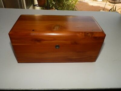 Lane Cedar Chest Sample Box Presented by Fredman Bros Furniture Co