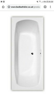 Bath Extra long, wide very large 1800 x 800 centre waste double ended - RRP £325