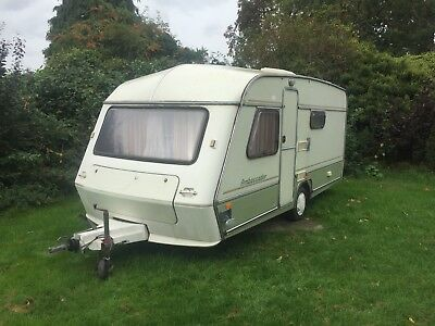 Abi jubilee caravan 4 birth with fixed bed