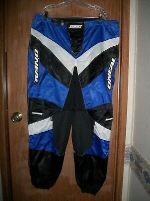 Nwt O'neal 06 Blue Element Off Road Dirt Bike Atv Pant Size 44