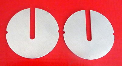 """2 New 14"""" Band Saw Table Inserts Fits Delta/Rockwell, Milwaukee. USA, best made"""