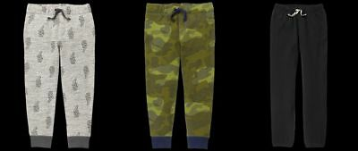 NEW GYMBOREE boys Pants Joggers size 4 5 6 Fall Winter NWT YOU PICK